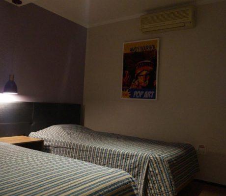 Apartamento de 1 Quarto com 2 Camas de Solteiro